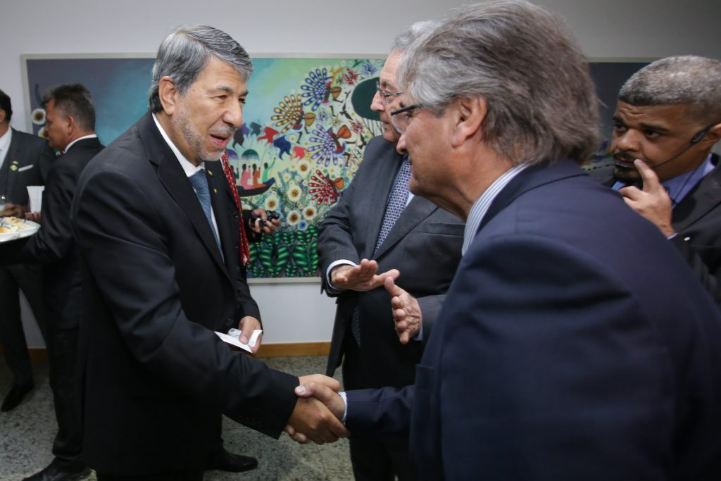 Brazilian Farmers and Government reinforce trade relations with